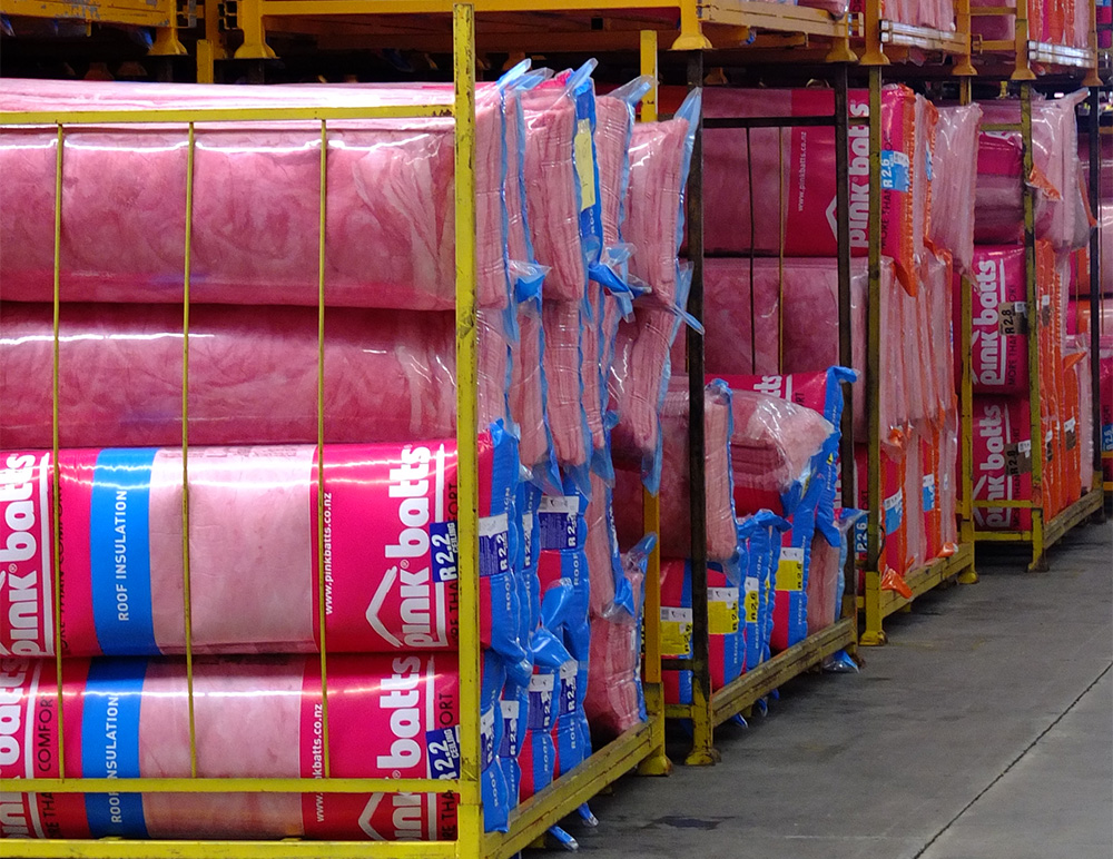 Our business distribution Pink Batts