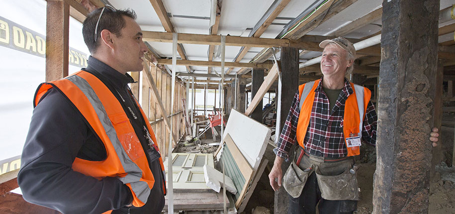 minister says christchurch repairs huge success lead