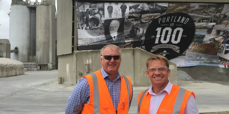 Golden Bay Cement's Portland plant celebrates 100 years