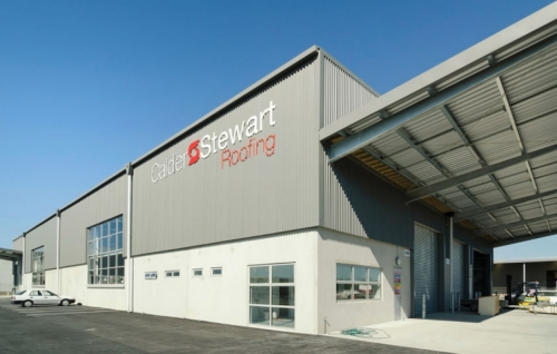 Fletcher Steel welcomes Calder Stewart Roofing